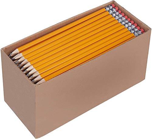 Amazon Basics - Holzgefasste Bleistifte, HB, vorgespitzt, 150er-Pack