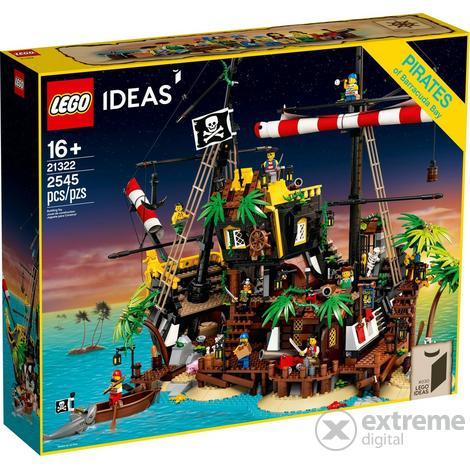 Tiefstpreis LEGO® Ideas - Piraten der Barracuda-Bucht (21322)