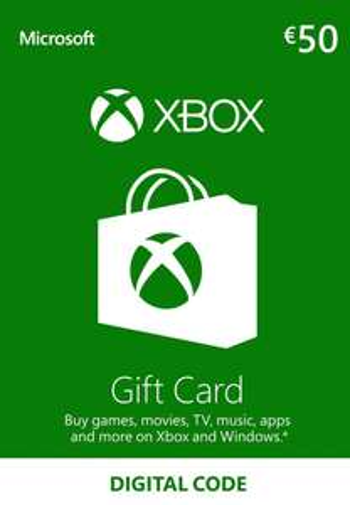Xbox 50€ Guthabenkarte