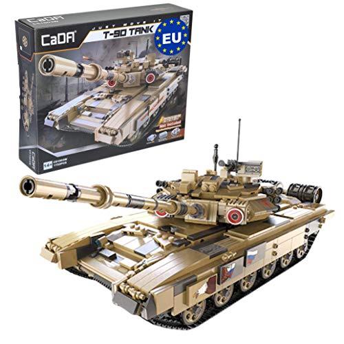 [Amazon] CaDa C61003W Russian T-90 Battle Tank, Panzer mit 1722 Teile /Klemmbausteine für 64,99€ aus DE, oder +Power System 68,12€ aus CN