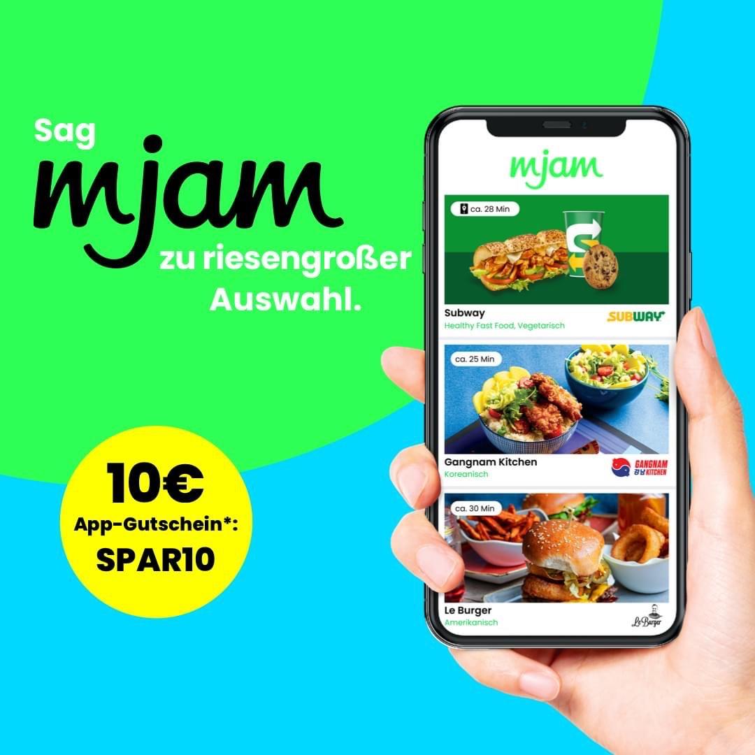 MJAM -10€ Gutschein (Niederösterreich)