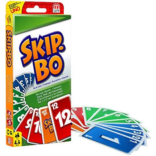 Mattel Games 52370 Skip-Bo Kartenspiel und Familienspiel