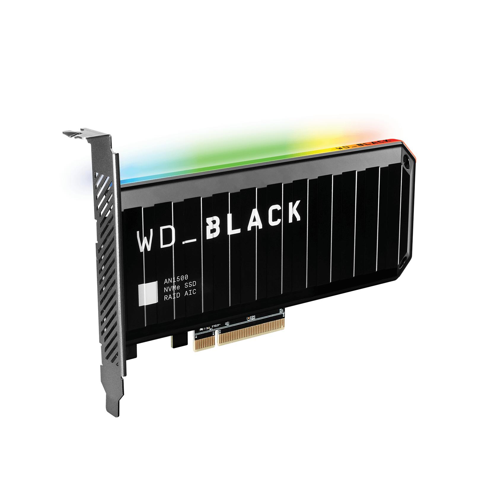 Western Digital WD_BLACK AN1500, 2TB, PCIe 3.0 x8