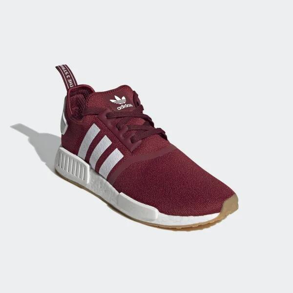adidas NMD_R1 Schuh, Collegiate Burgundy
