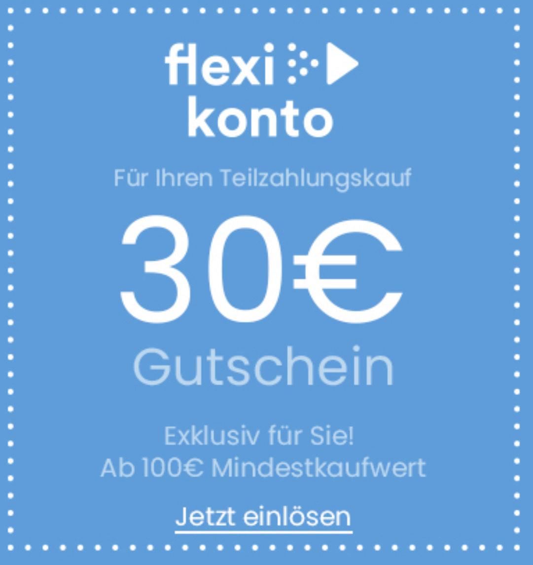 30 € Gutschein - 100 € Mindestkaufwert (nur für Premiumkunden bei Teilzahlungskauf). ZB.: 4er-Set Apple AirTag um nur € 89,—!