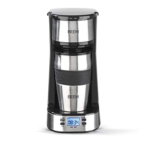 BEEM THERMO 2 GO Single-Filterkaffeemaschine Inklusive 0,4 l Thermobecher