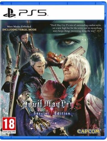 """Devil May Cry 5 - Special Edition"" (PS5) zum teuflisch guten Preis - Abholung bei Müller"