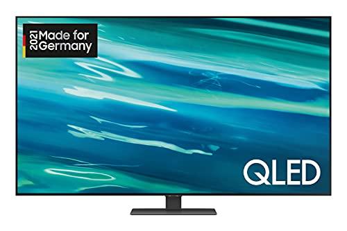 Samsung QLED 4K TV Q80A 50 Zoll (GQ50Q80AATXZG), Quantum HDR 1000, Direct Full Array, Game Pro Mode [2021]