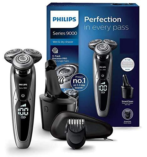 Philips Series 9000 Elektrischer Nass- und Trockenrasierer