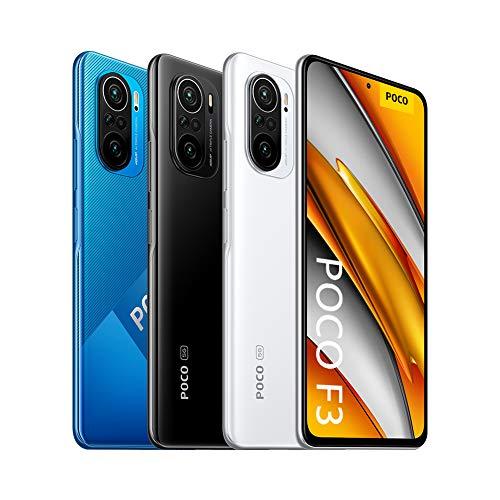 "Xiaomi POCO F3 256/8GB (Snapdragon 870, 6.67"" 120Hz Amoled Display, 4520mAh Akku, 33W Laden, NFC, 5G)"