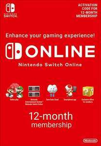 12 Monate Nintendo Switch Online