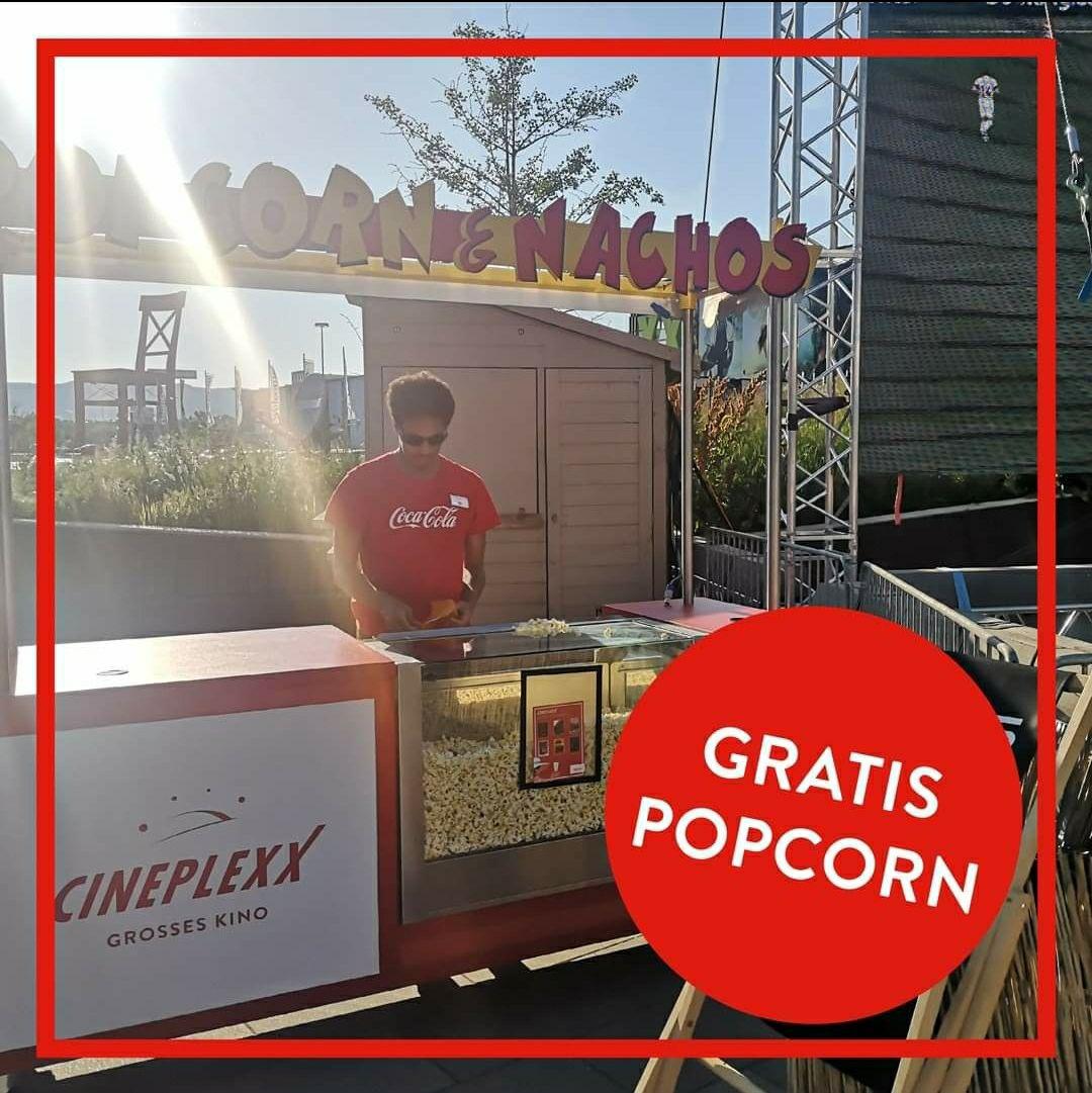 Gratis Popcorn - Wien Mitte The Mall