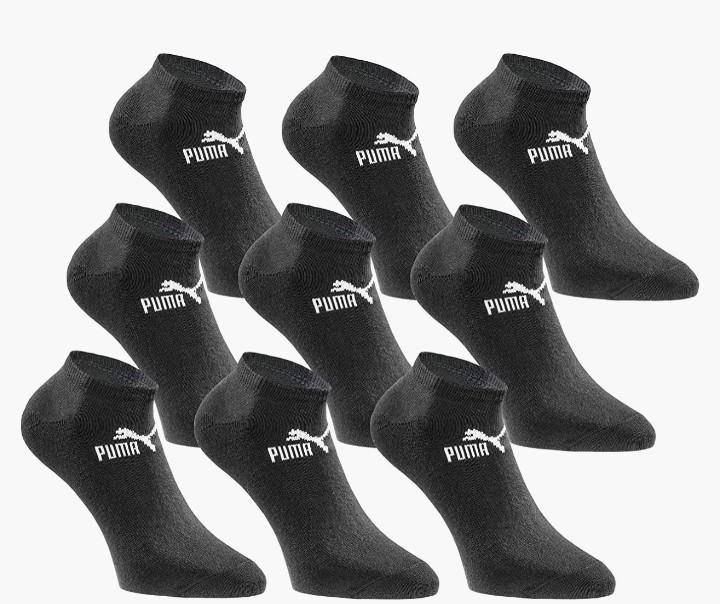 18er-Pack Puma Socken in verschiedenen Farben und Größen um 24,95