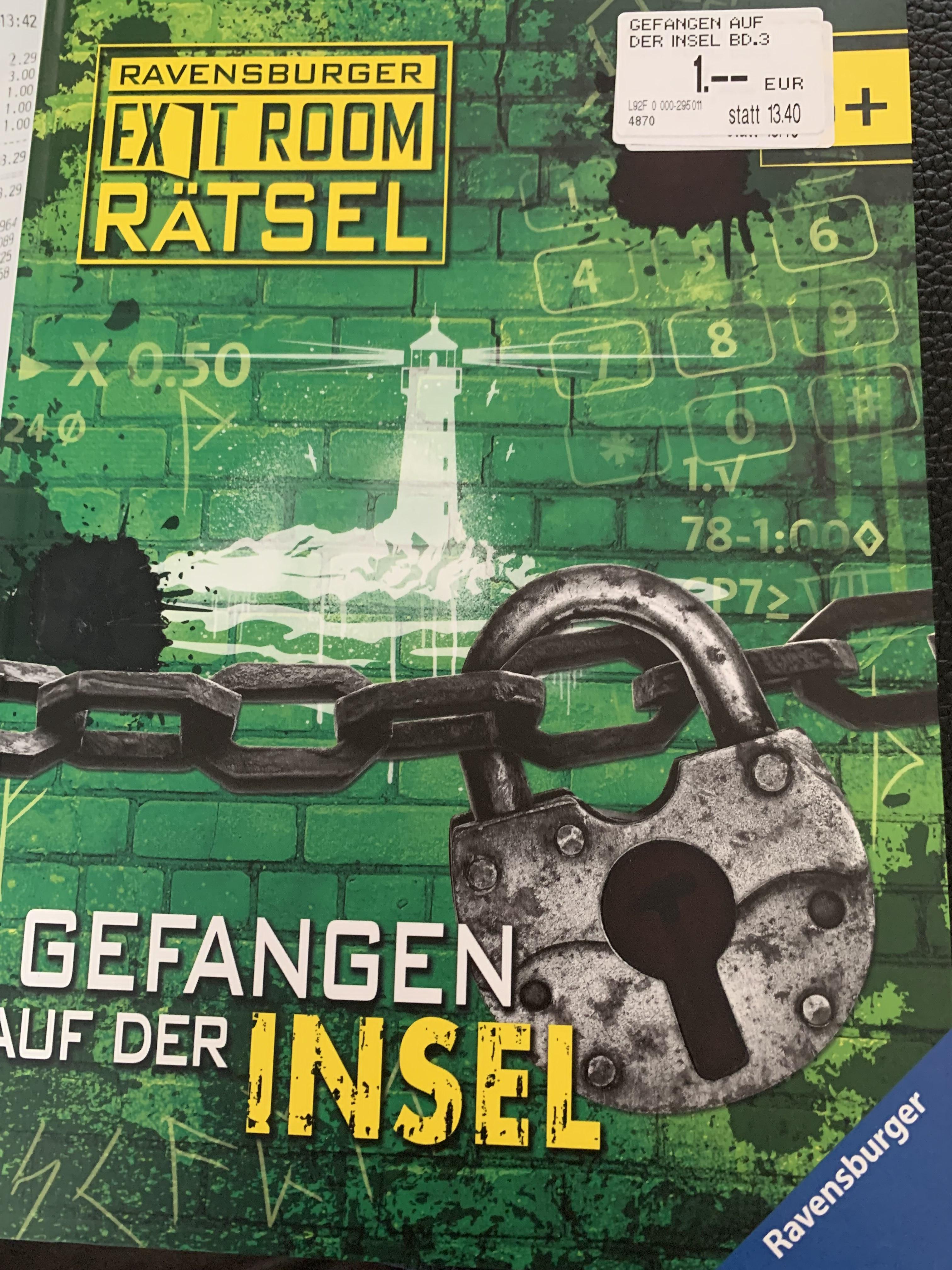 Libro Exit Room Rätsel Buch