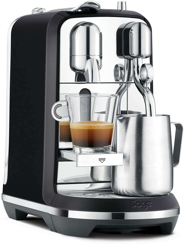 """Sage """"SNE800 the Creatista Plus"""" Nespresso Kaffeemaschine mit Milchschäumer + 60 € Nespresso Gutschein"""