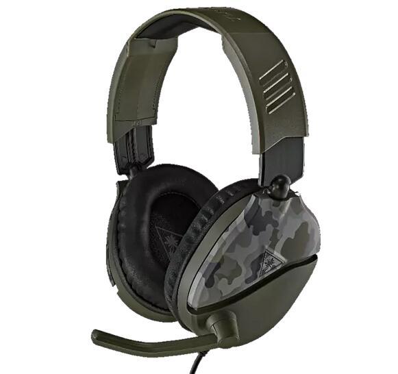 Turtle Beach Gaming Headset Recon 70, camo green od. camo blue