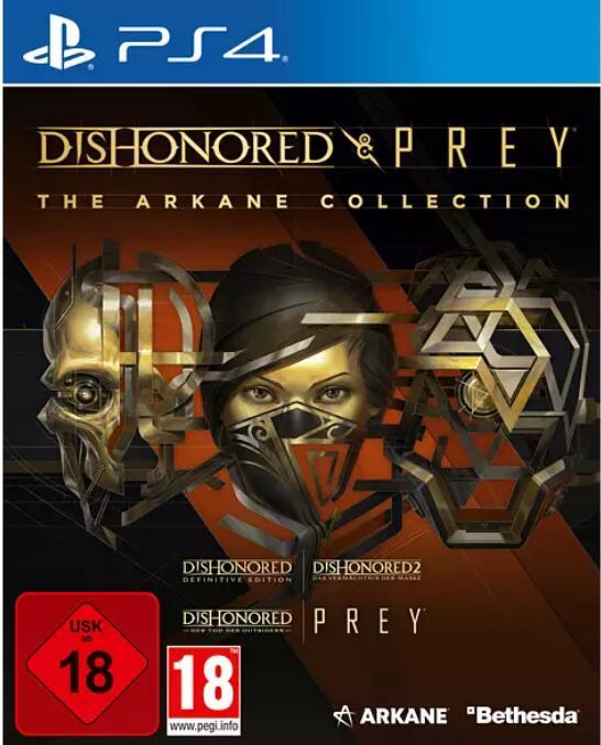 """The Arkane Collection: Dishonored & Prey"" (PS4 / XBOX One) zum Beutepreis bei Media Markt"