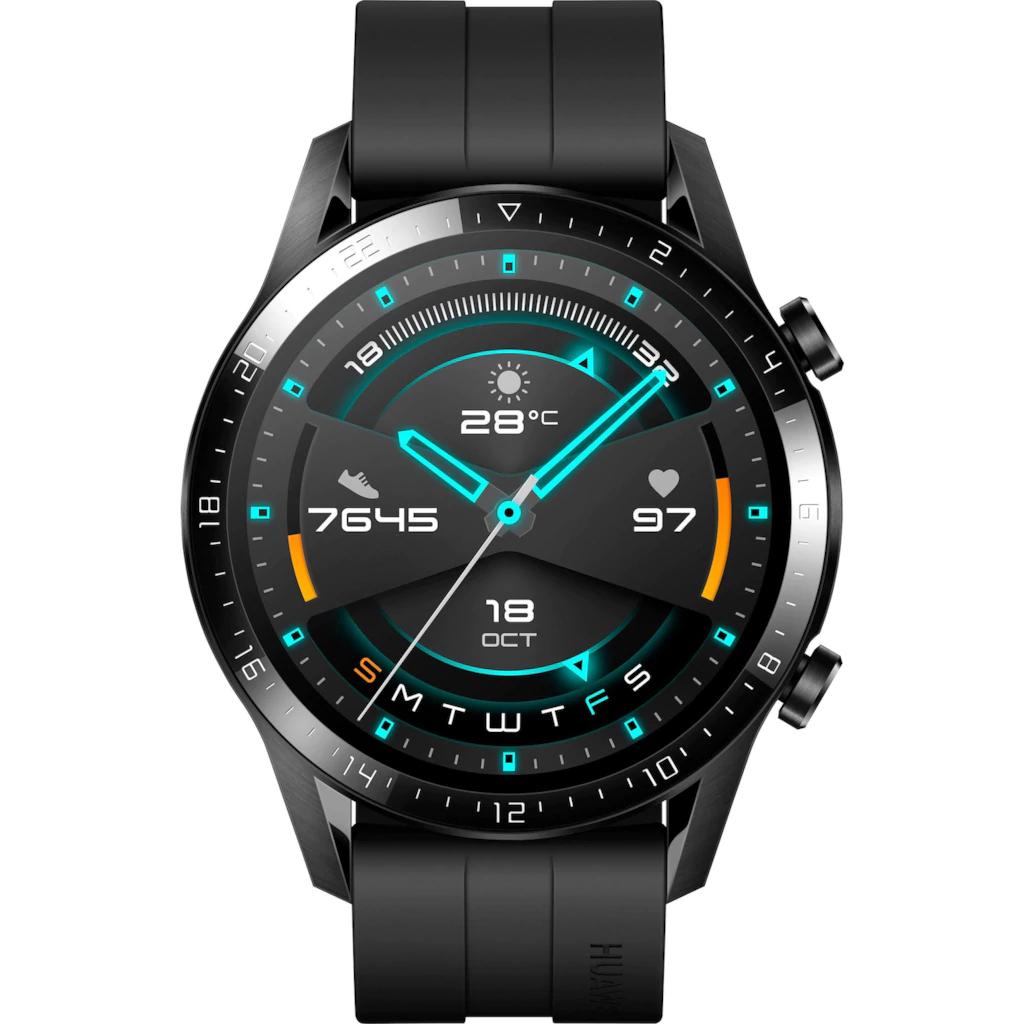 Huawei Watch GT 2 Sport, 46mm, schwarz