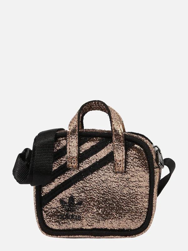 ADIDAS ORIGINALS Umhängetasche in bronze / schwarz für 13,93€ (statt 22€)