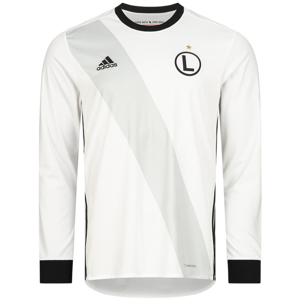 Adidas Legia Warschau Langarm Trikot, XS-XL