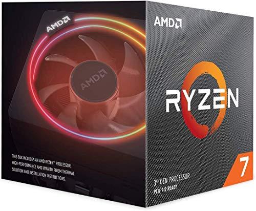 AMD Ryzen 7 3700X Prozessor - 8x 3.60GHz, 4,4 GHz Turbo, 32 MB L3, PCIe 4.0, 65 W, CPU, Wraith Prism