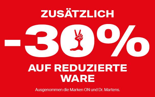 30% extra auf Sale bei Humanic