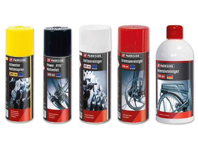 Fahrradpflege-Sortiment
