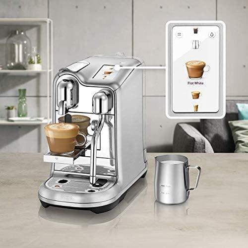 """Sage """"SNE900 the Creatista Pro"""" Nespresso Maschine (Edelstahl) mit Touchscreen - neuer Bestpreis"""