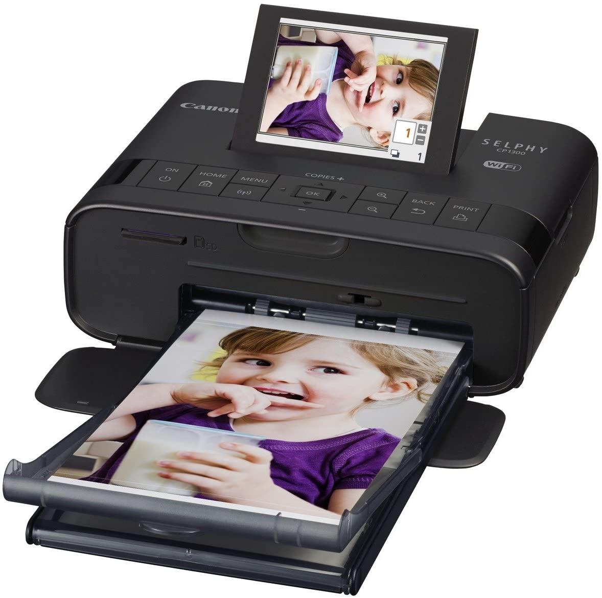 "Canon ""Selphy CP1300"" Fotodrucker 10x15 cm (mobiler Drucker, WLAN) - neuer Bestpreis"
