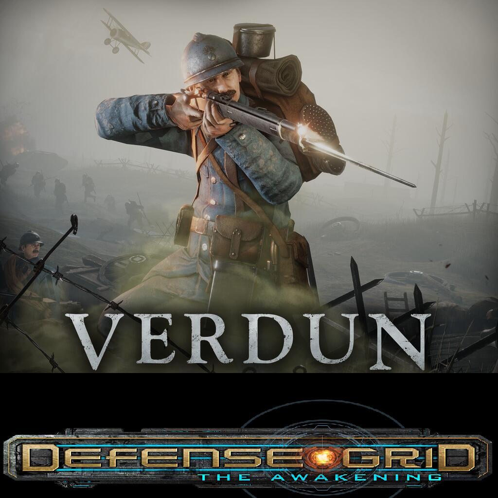 """Verdun"" und ""Defense Grid: The Awakening"" (Windows PC) gratis im Epic Store ab 22.7. 17 Uhr"