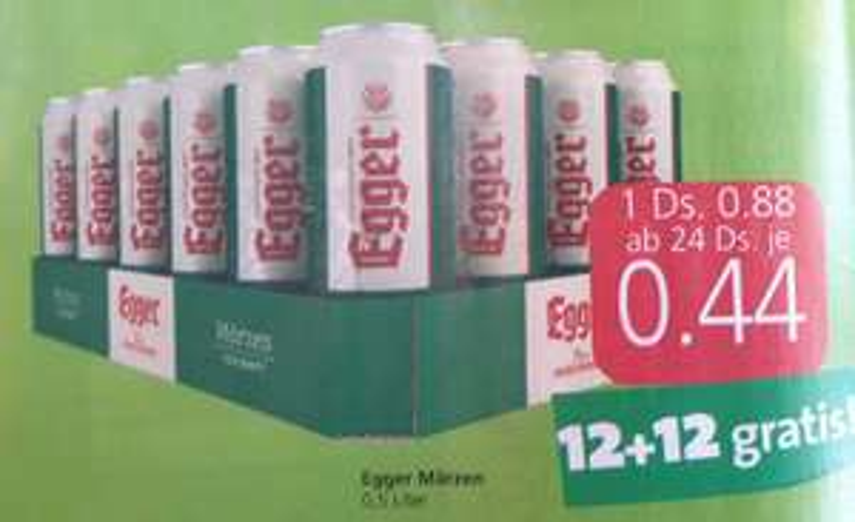 Egger Märzen Dosenbier um 0,44 ab 22.7. bei Spar, Eurospar und Interspar