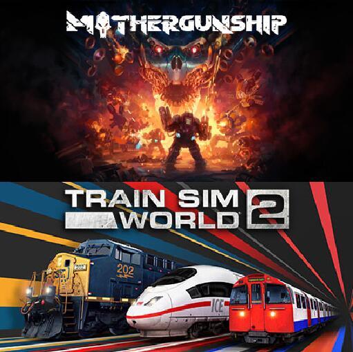 """""""Mothergunship"""" und """"Train Sim World 2"""" (Windows PC) gatis ab 29.7. 17 Uhr im Epic Store holen und behalten"""