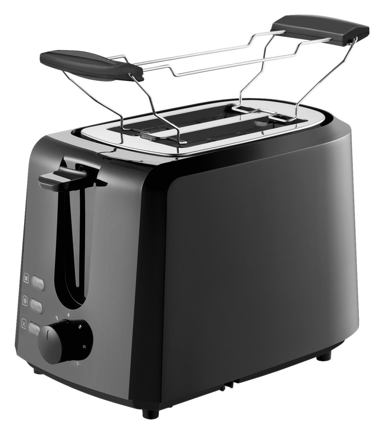 Grundig TA 4620 Toaster mit Brötchenaufsatz + Wärmfunktion