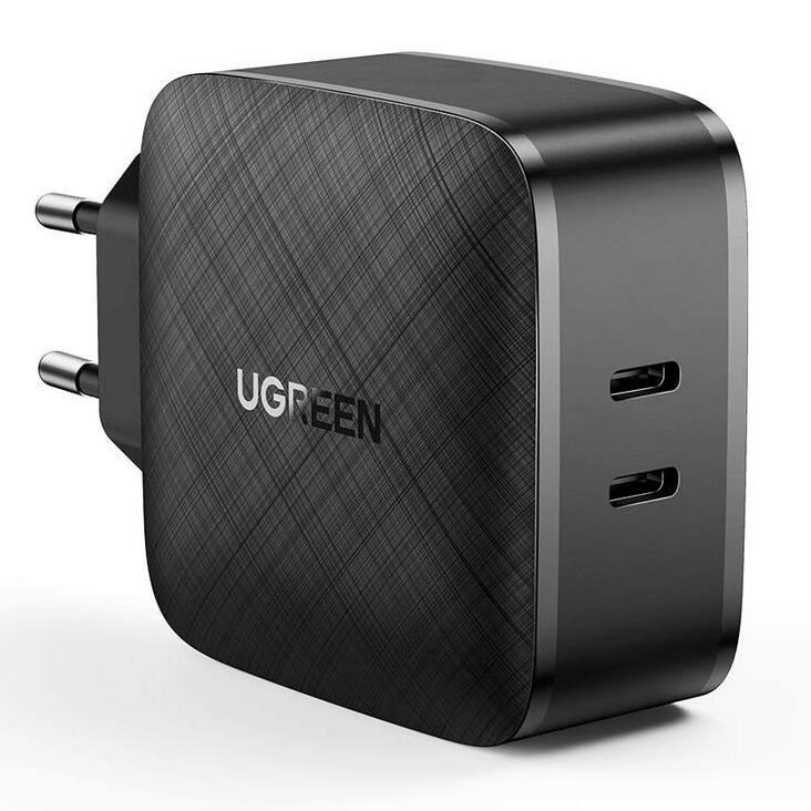 Ugreen 66W Ladegerät, 2x USB-C