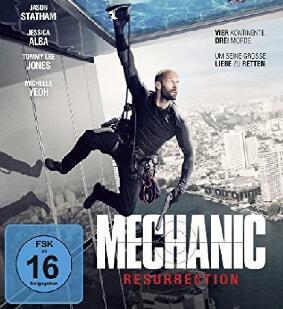 """4 Filme: """"Mechanic: Resurrection"""" m. Jason Statham/ Jessica Alba """"Black Dynamite"""" m. Michael Jai White """"Deine Juliet"""" u. """"Mid90s"""" Stream SRF"""