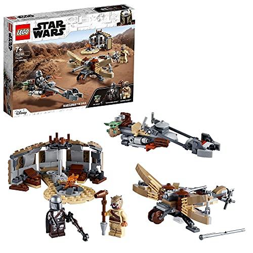 LEGO 75299 Star Wars: The Mandalorian Ärger auf Tatooine Bauset mit Baby Yoda