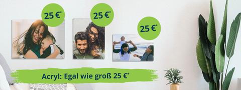 Acryl: Egal wie groß25€