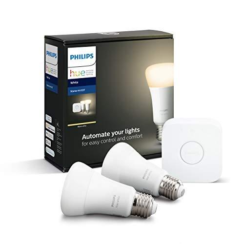 Philips Hue Starterset, Bridge + 2x E27 White LED