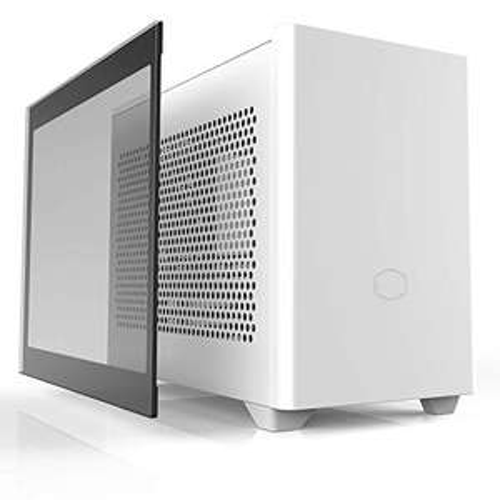 Cooler Master MasterBox NR200P, weiß, Glasfenster, Mini-ITX