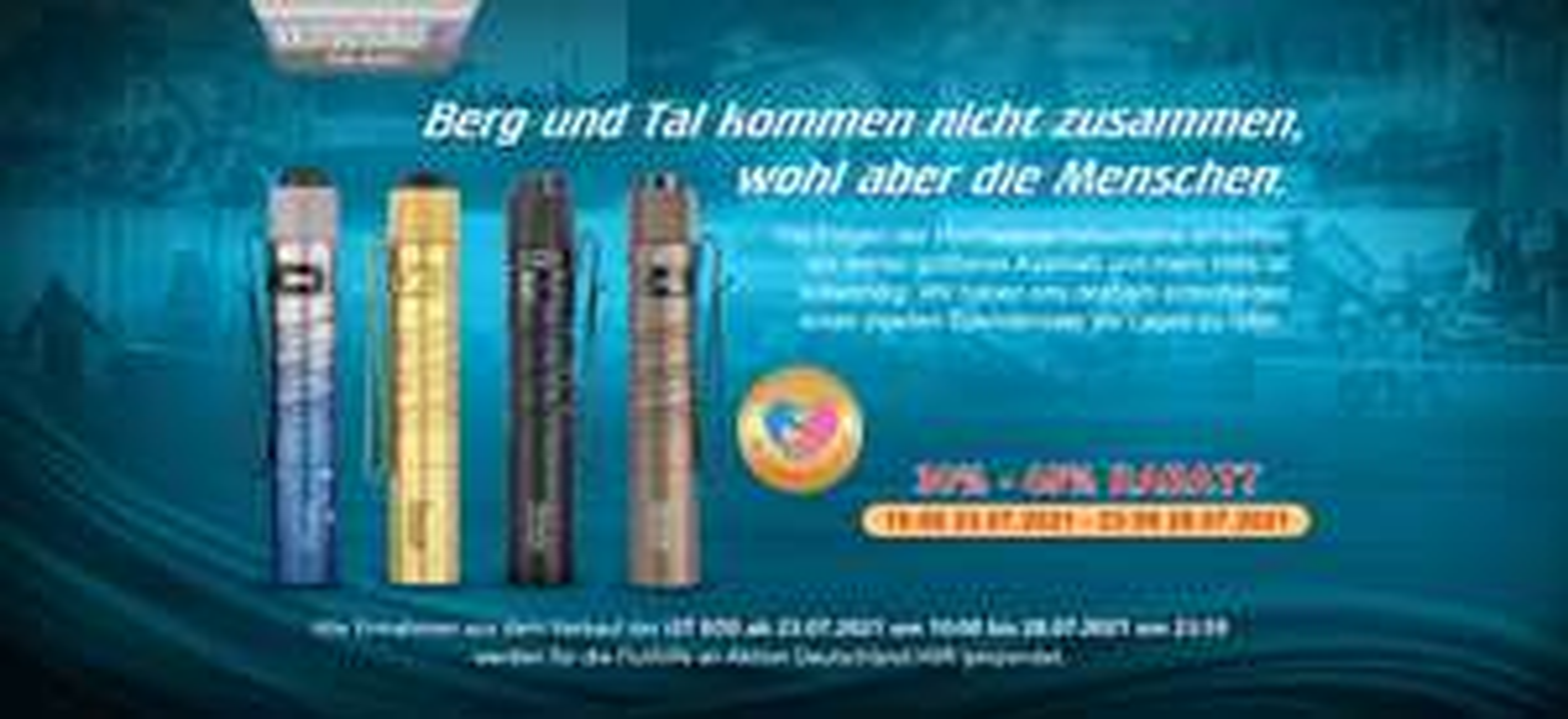 OLIGHT Summer-Sale - Endet Heute (30.07.) (+ kostenlose i3E Schlüsselbundleuchte)