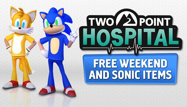 """""""Two Point Hospital"""" (PC) Gratiswochenende + gratis Sonic Items - Game dzt. zum Schnäppchenpreis bei Gamebillet um 6,98€"""