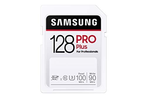 Samsung PRO Plus for Professionals 2020 R100/W90 SDXC 128GB, UHS-I U3, Class 10
