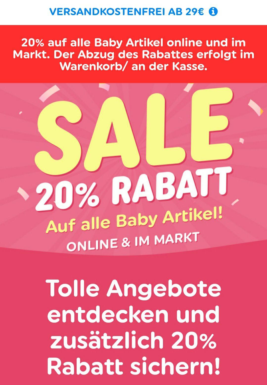 Smyths Toys: -20% auf alle Babyprodukte