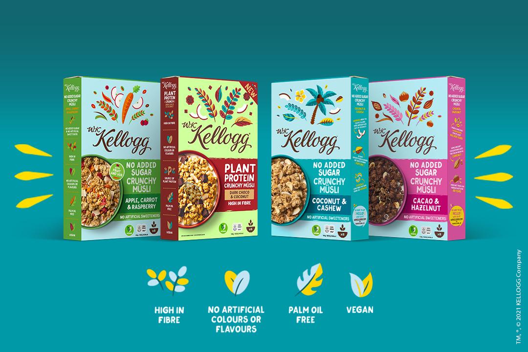 [Billa+] Kellog's Crunchy Müsli um 0,75 mit Pickerl und scondoo cashback