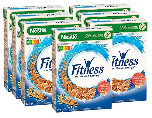 7x 375g Nestlé Fitness Vollkorn Frühstücks-Flakes