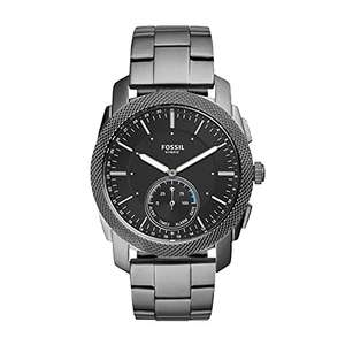 "Fossil Q Hybrid Smartwatch ""FTW1166"" mit Edelstahl Armband"