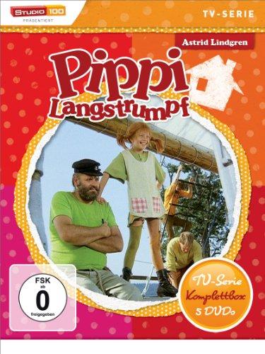 [Amazon prime] Pippi Langstrumpf - TV-Serie Komplettbox [5 DVDs, Digital restauriert]
