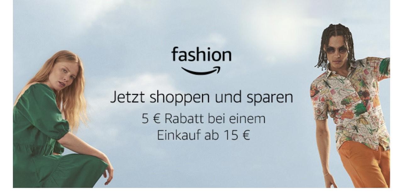 Amazon Lotterie: 5€ Rabatt ab MBW 15€ bei Amazon Fashion